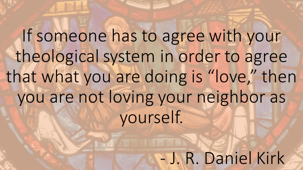 Daniel Kirk Love Neighbor