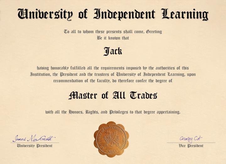 Master of All Trades