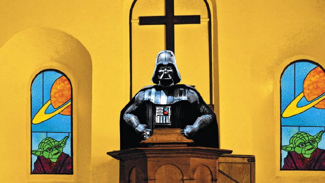 Vader in the pulpit