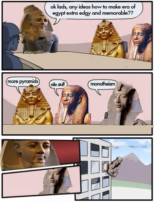 Akhenaten's idea