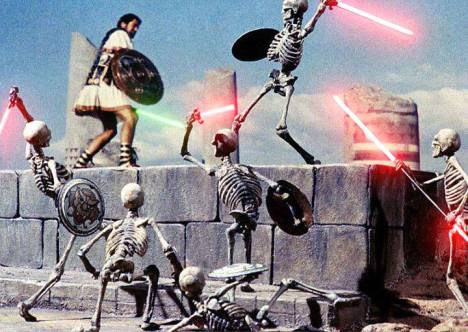Jason and the Argonauts lightsabers