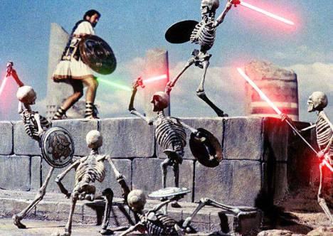 Jason and the Argonauts lightsabers
