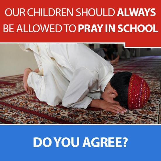 Prayer in schools meme redone