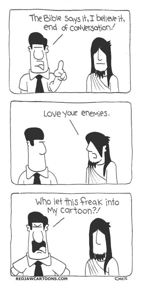 End of conversation Spike Davis cartoon