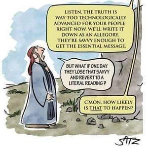Biblical metaphors and savvy readers