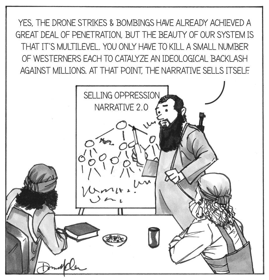 ISIS Cartoon Dan McClellan