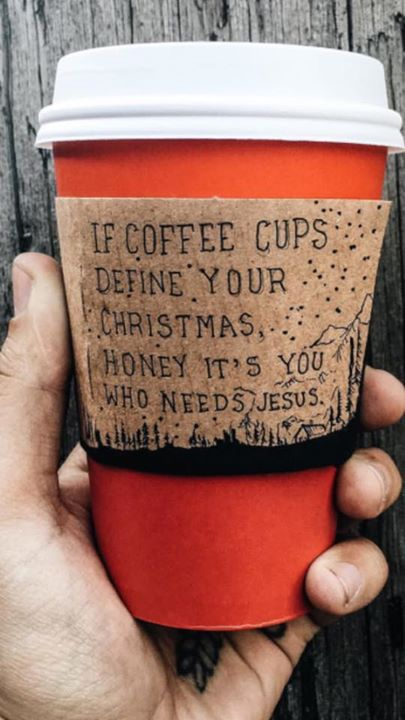 If coffee cups define your Christmas