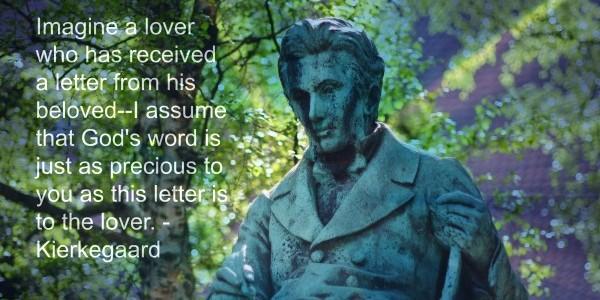 Kierkegaard love letter