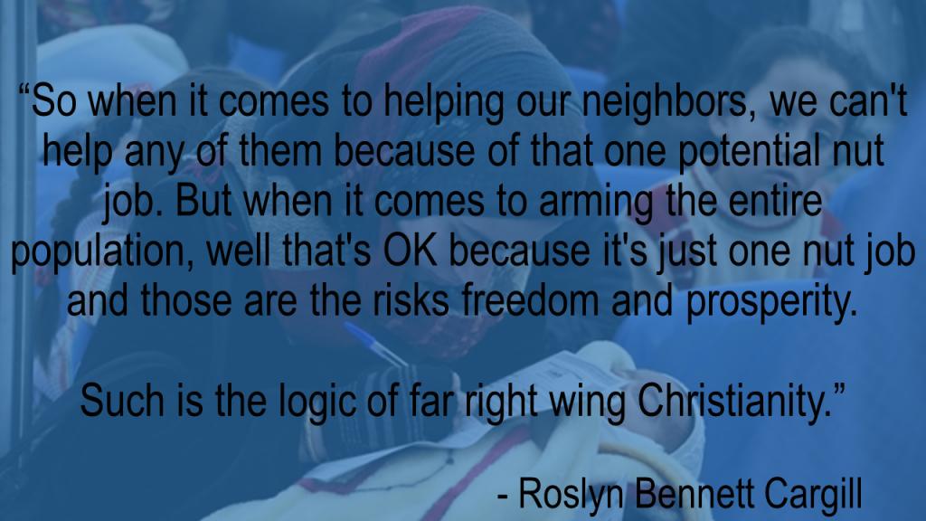 Roslyn Cargill quote