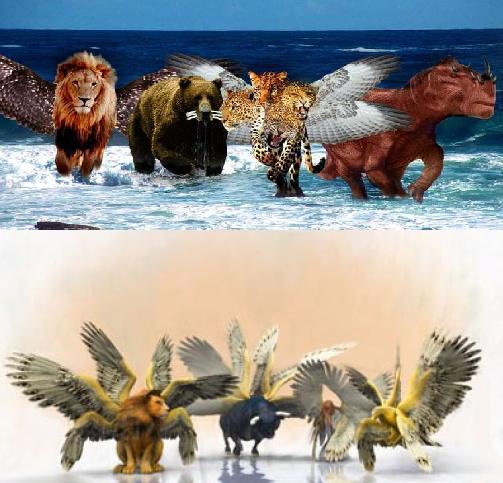 Daniel Revelation Beasts