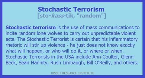Stochastic Terrorism