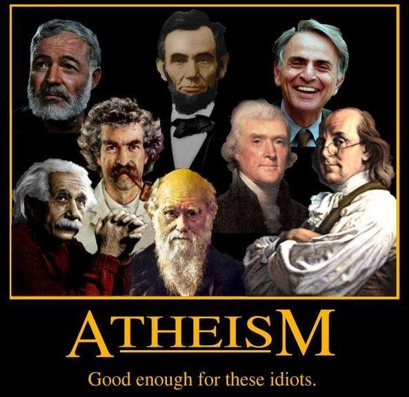 Atheism Idiots