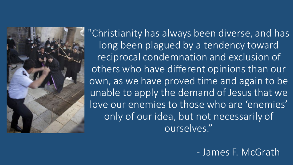 Christianity has always been diverse
