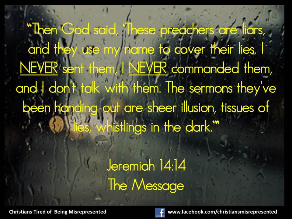 Jeremiah The Message