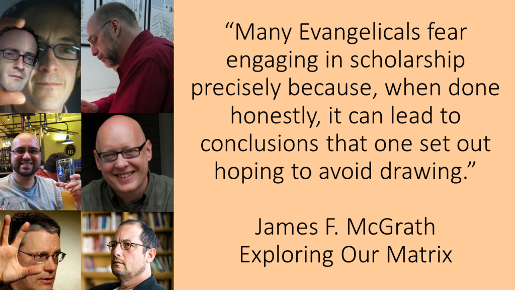 Many Evangelicals fear engaging in scholarship