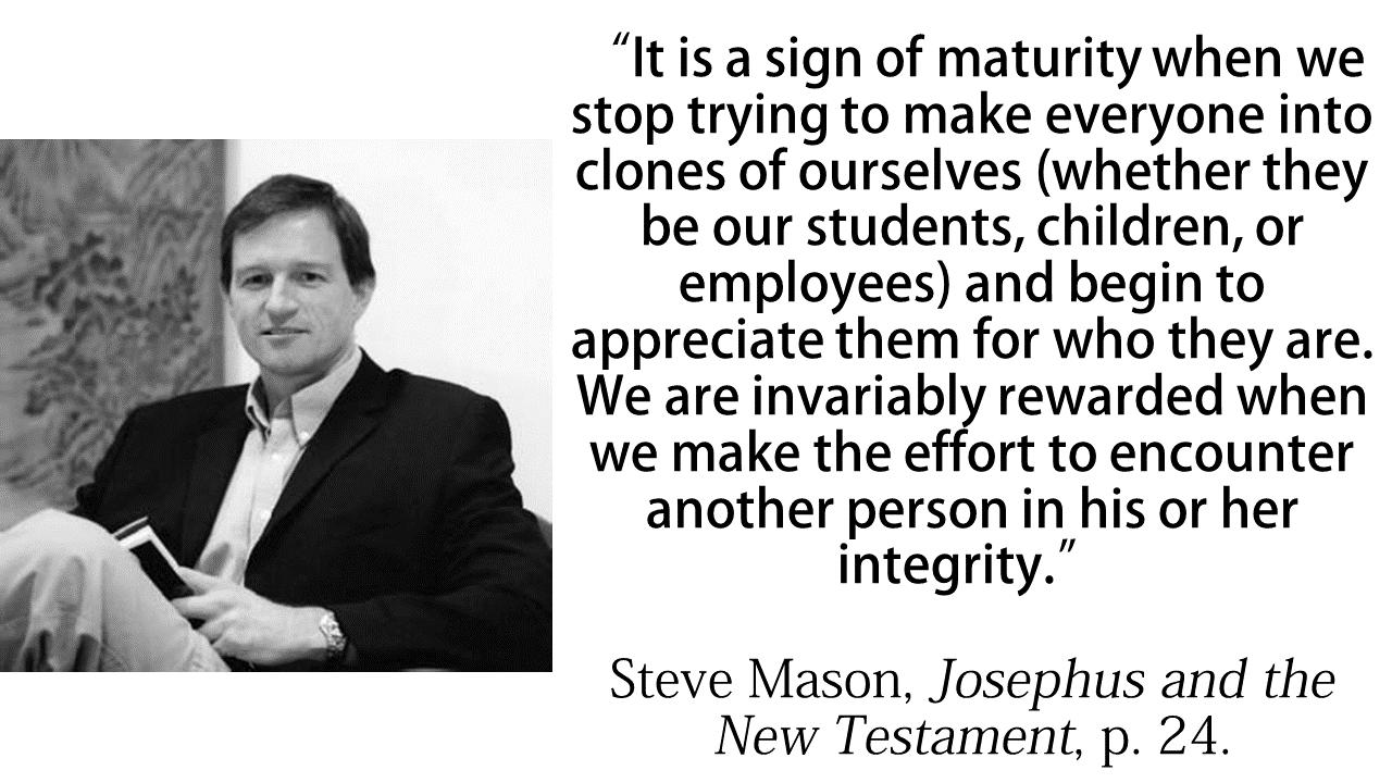Steve Mason quote sign of maturity