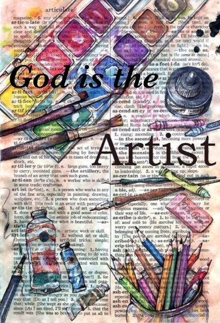 God is the artist