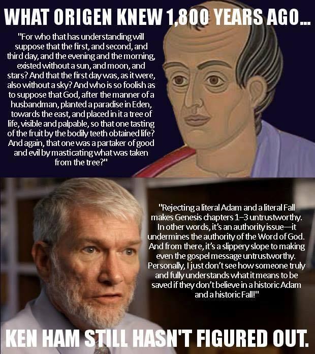 Origen vs Ken Ham