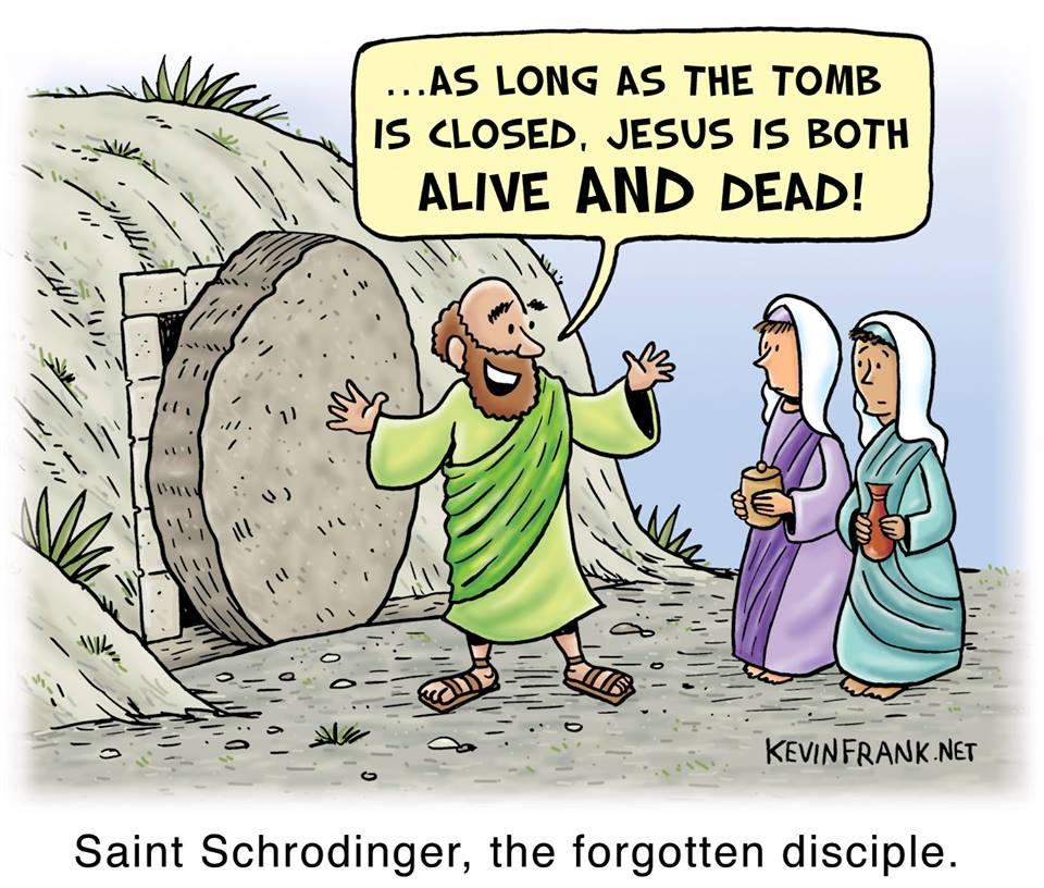 Saint Schroedinger