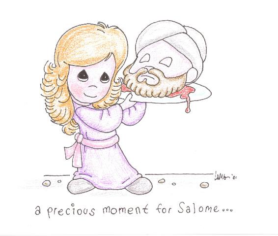 Precious Moments Salome