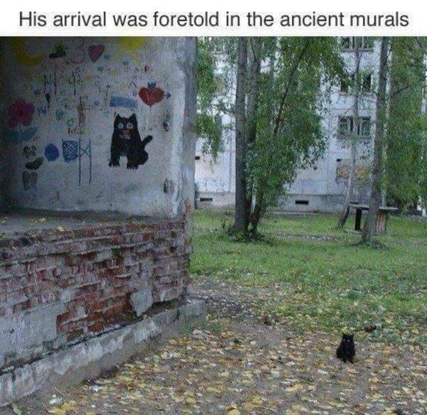 foretold in the ancient murals
