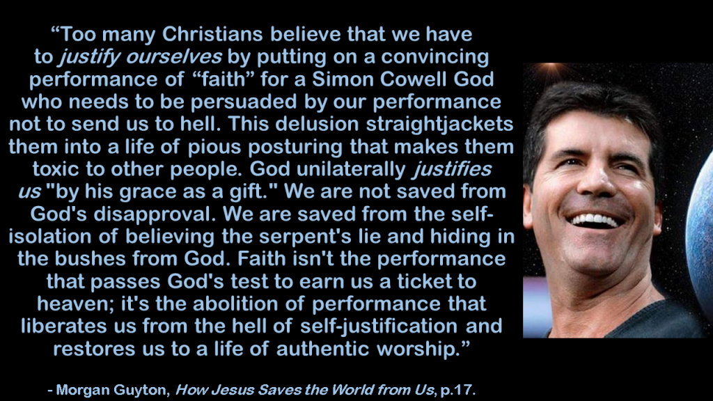 Morgan Guyton Simon Cowell God