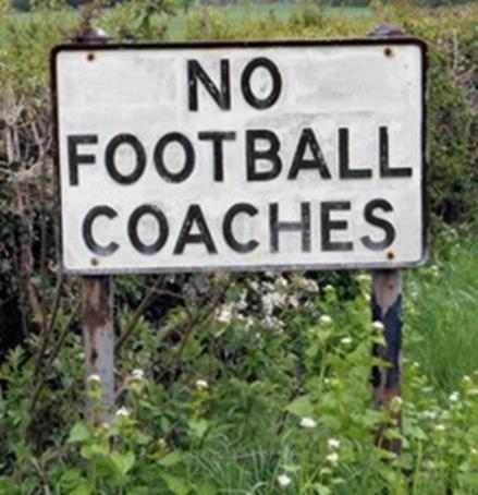 No football coaches