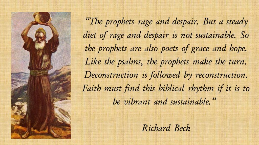 Richard Beck Prophets Deconstruction Reconstruction