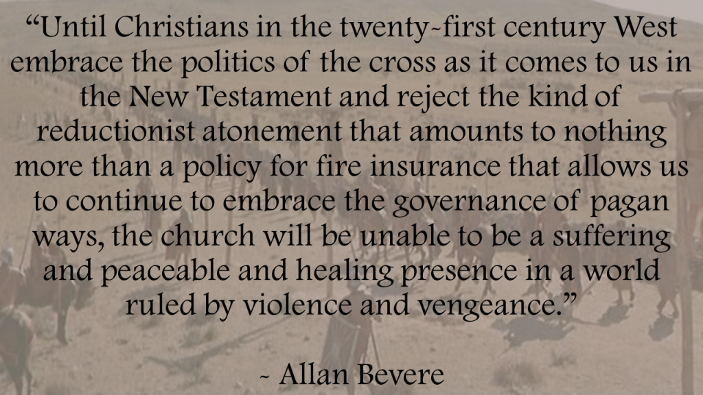 Allan Bevere Politics Cross