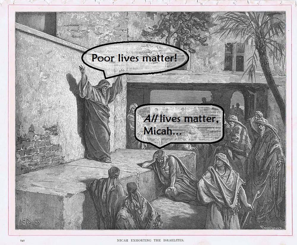 Micah Gustave Dore poorlivesmatter