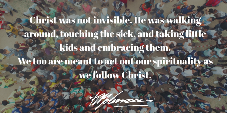 Christ was not invisible - KP Yohannan - Gospel for Asia