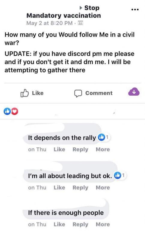 Us Announces 2 Autism Rate Again And >> Anti Vax Facebook Group Threatens To Overthrow U S Government