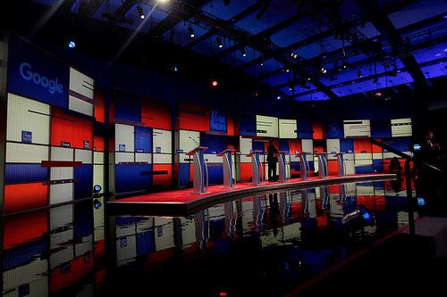 photo credit: Republican Party debate stage via photopin (license)