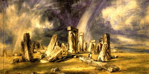 """John Constable-""""Stonehenge"""" from WikiMedia."""