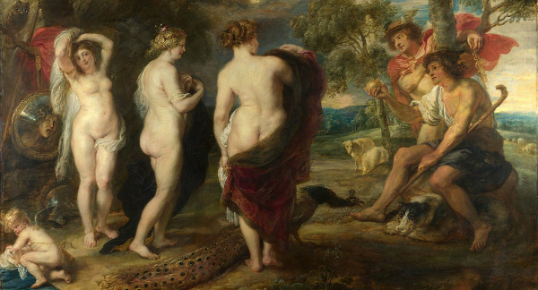 """""""The Judgement of Paris"""" by Peter Paul Rubens, from WikiMedia."""