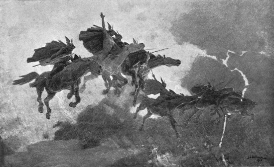 """The Ride of the Valkyrs"" by  John Charles Dollman.  From WikiMedia."