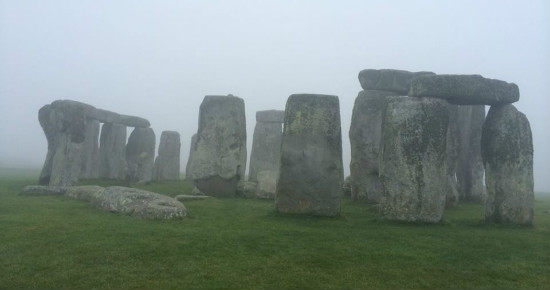 Stonehenge in the Misty Morning, by Mankey.