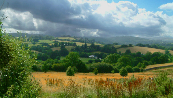The view from Chagford