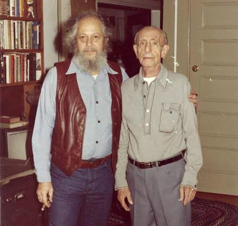 Donald Weiser with his father Samuel Weiser,  (Courtesy of Weiser/Red Wheel)