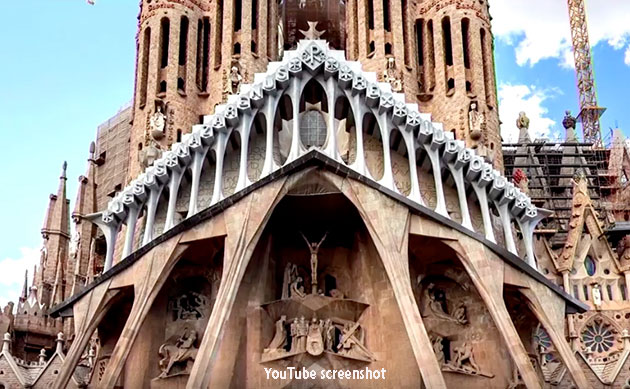 Famous Barcelona Church Coughs Up