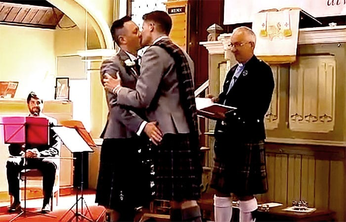 Christian Institute blasts BBC over gay wedding on 'Songs of