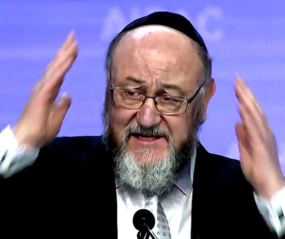 Rabbi 'shudders' as he reveals the existence of ... atheists