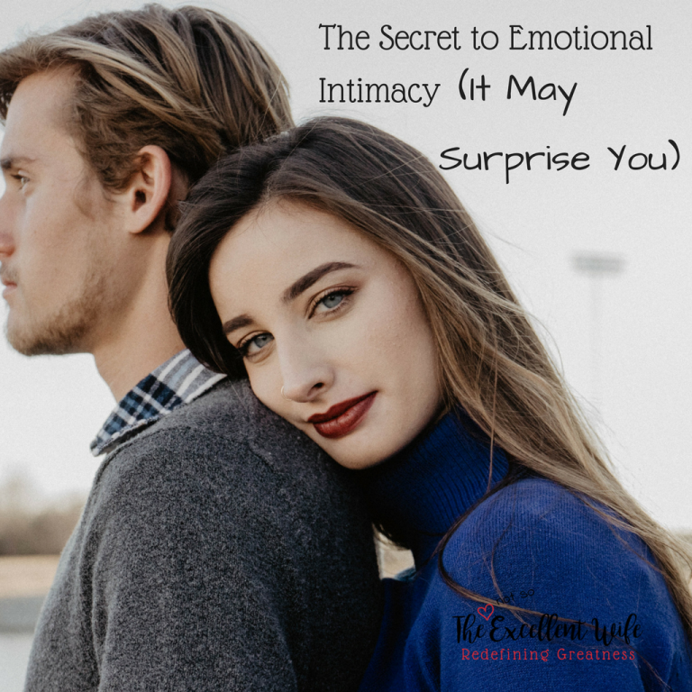 how to get emotional support from your husband