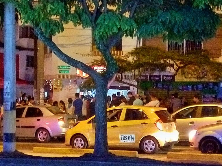 Buñuelos line-up, Dia de las velitas, M L Clark, 2018