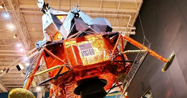 Mark König, Unsplash.com, CC0 Licensing - Photo of Lunar Model LTA-8 in Houston Texas