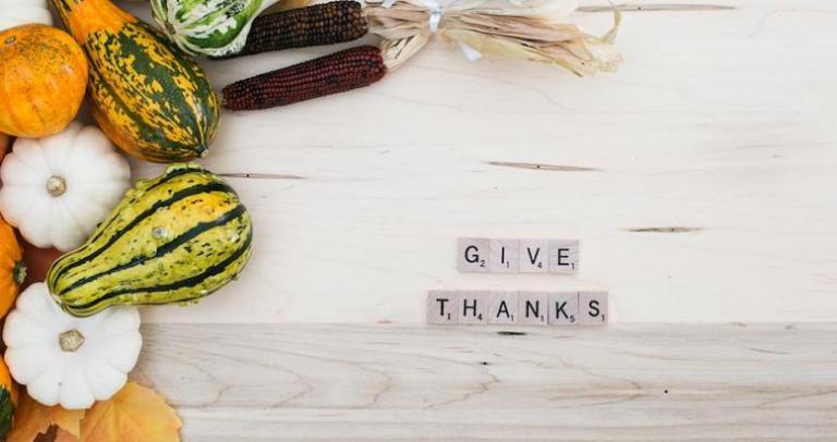 give thanks examen gratitude prayer
