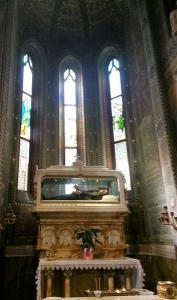 Bartolomea Capitanio in her sanctuary in Lovere