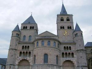 Trier Cathedral where St. Magnericus lived