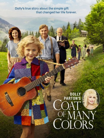 "DOLLY PARTON'S COAT OF MANY COLORS -- Pictured: ""Dolly Parton's Coat of Many Colors"" Key Art -- (Photo by: NBCUniversal)"