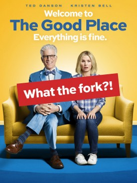 "THE GOOD PLACE -- Pictured: ""The Good Place"" Vertical Key Art -- (Photo by: NBCUniversal)"